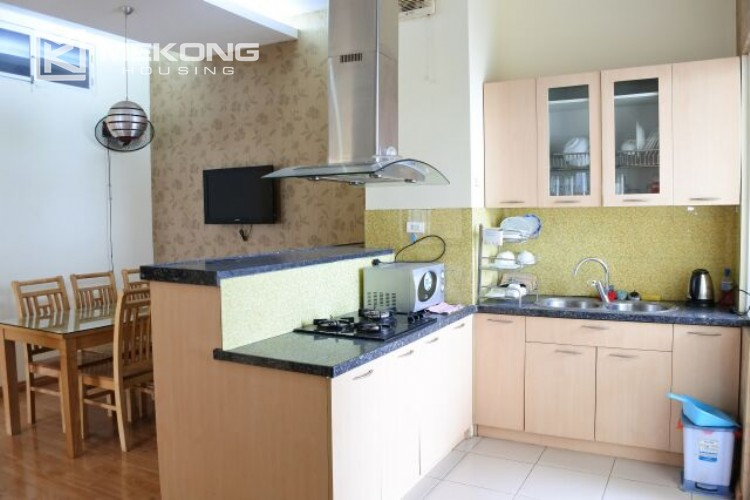 Fully furnished apartment with 3 bedrooms for rent at 713 Lac Long Quan street, Tay Ho 9
