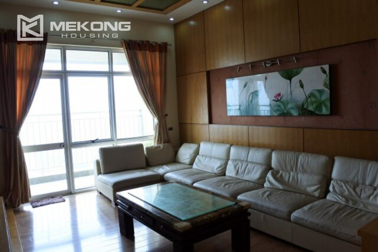 Fully furnished apartment with 3 bedrooms for rent at 713 Lac Long Quan street, Tay Ho 15