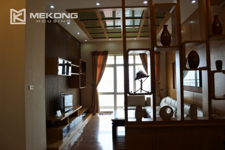 Fully furnished apartment with 3 bedrooms for rent at 713 Lac Long Quan street, Tay Ho 1