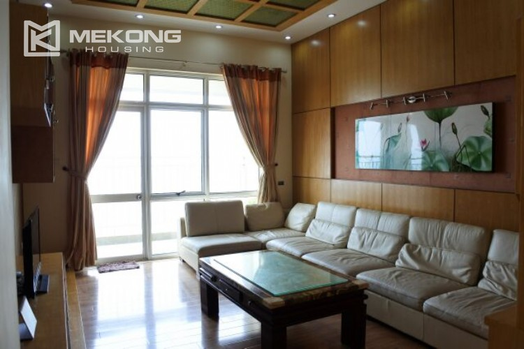 Fully furnished apartment with 3 bedrooms for rent at 713 Lac Long Quan street, Tay Ho 2