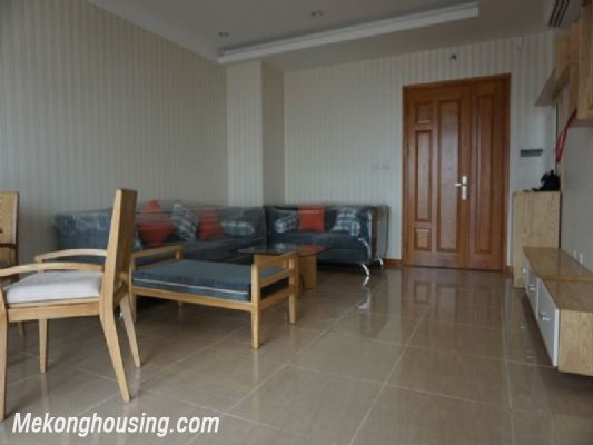 Fully furnished apartment with 3 bedrooms for rent in CT2B Tay Ho Residence, Tay Ho, Hanoi 3