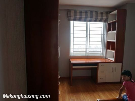 Fully furnished apartment with 3 bedrooms for rent in CT2B Tay Ho Residence, Tay Ho, Hanoi 13