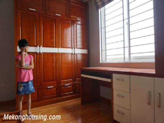 Fully furnished apartment with 3 bedrooms for rent in CT2B Tay Ho Residence, Tay Ho, Hanoi 14