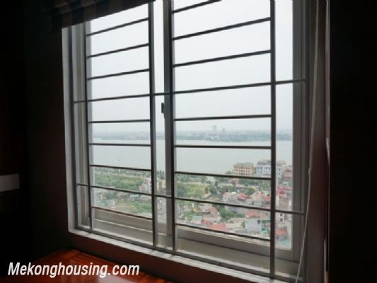 Fully furnished apartment with 3 bedrooms for rent in CT2B Tay Ho Residence, Tay Ho, Hanoi 17