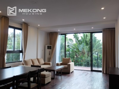 Fully furnished apartment with 3 bedrooms for rent in Xom Chua