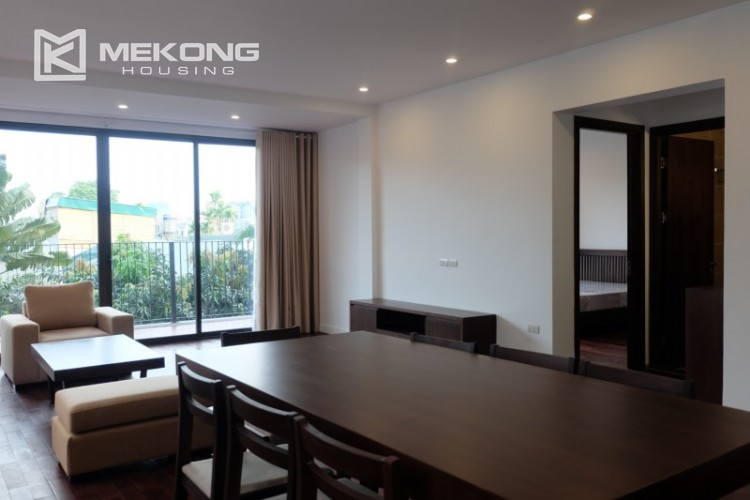 Fully furnished apartment with 3 bedrooms for rent in Xom Chua 2