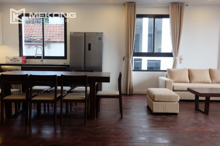 Fully furnished apartment with 3 bedrooms for rent in Xom Chua 4