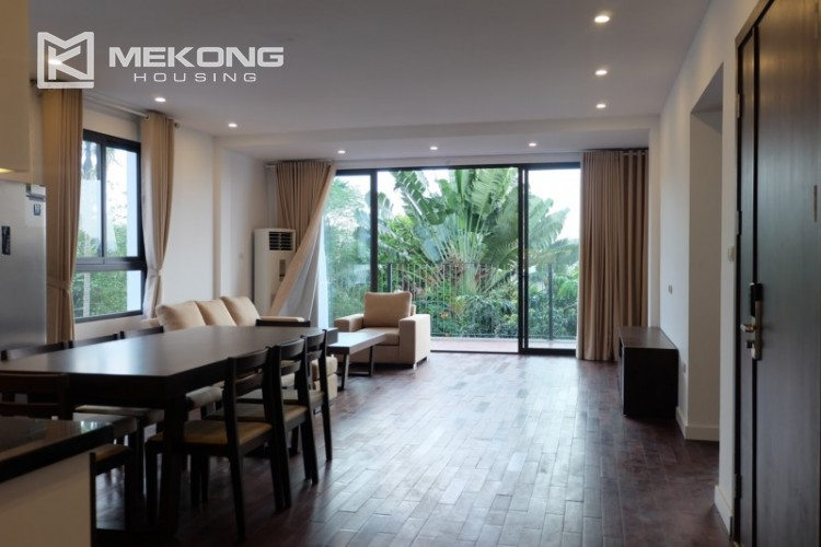 Fully furnished apartment with 3 bedrooms for rent in Xom Chua 6