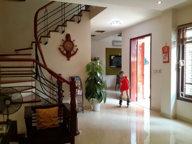 Fully furnished house with 3 floors for rent in Tay Ho, Hanoi