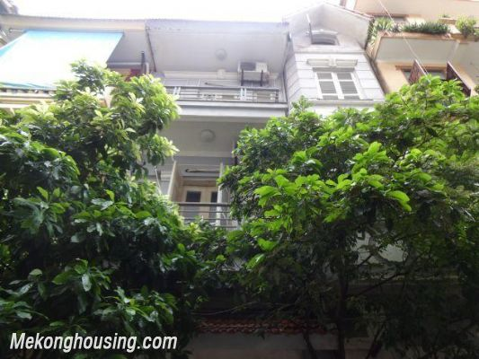 Fully furnished house with 4 bedrooms for rent in Nghi Tam, Tay Ho district, Hanoi 1
