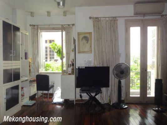 Fully furnished house with 4 bedrooms for rent in Nghi Tam, Tay Ho district, Hanoi 2