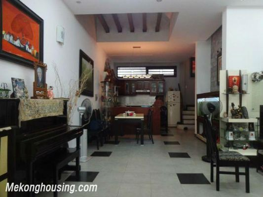 Fully furnished house with 4 bedrooms for rent in Nghi Tam, Tay Ho district, Hanoi 9