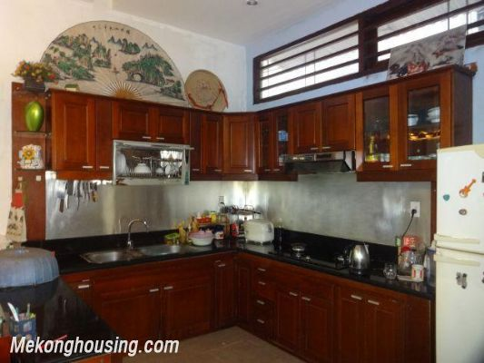 Fully furnished house with 4 bedrooms for rent in Nghi Tam, Tay Ho district, Hanoi 13