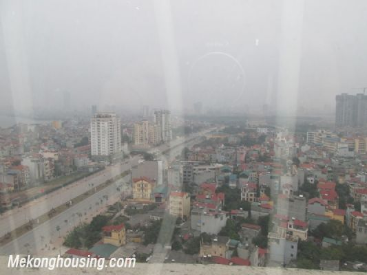 Fully furnished penthouse apartment with 3 bedrooms for rent in G building, Ciputra Hanoi 10