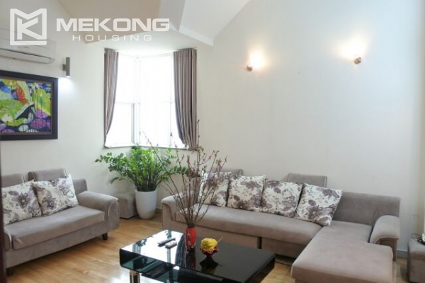 Fully furnished penthouse apartment with 3 bedrooms for rent in G2 building, Ciputra Hanoi 4
