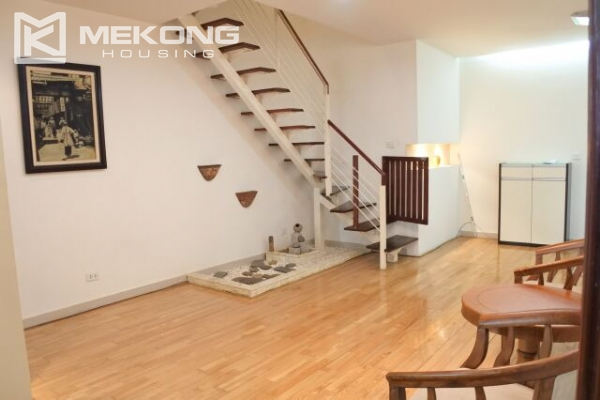 Fully furnished penthouse apartment with 3 bedrooms for rent in G2 building, Ciputra Hanoi 5