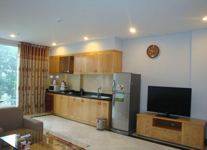 Fully furnished serviced apartment for rent in Lang Ha, Dong Da, Hanoi