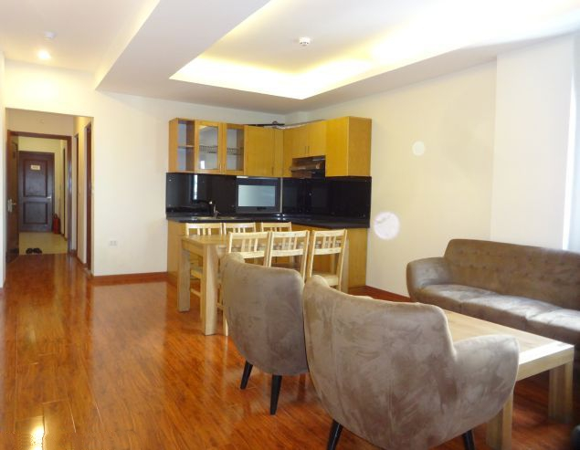 Fully furnished serviced apartment for rent in Pho Duc Chinh, Ba Dinh, Hanoi