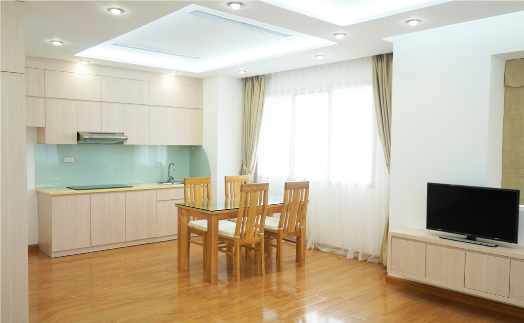 Fully furnished serviced apartment with 1 bedroom for rent in Hanoi downtown, Hai Ba Trung