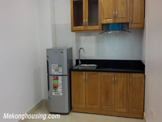 Fully furnished serviced apartment with one bedroom for rent in Hoang Quoc Viet, Cau Giay, Hanoi 2
