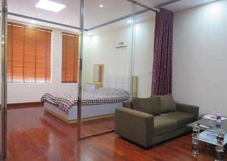 Fully furnished studio apartment for rent in Trung Yen street, Cau Giay district, Hanoi