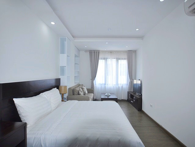 Fully furnished studio serviced apartment for rent in Cau Giay, Hanoi