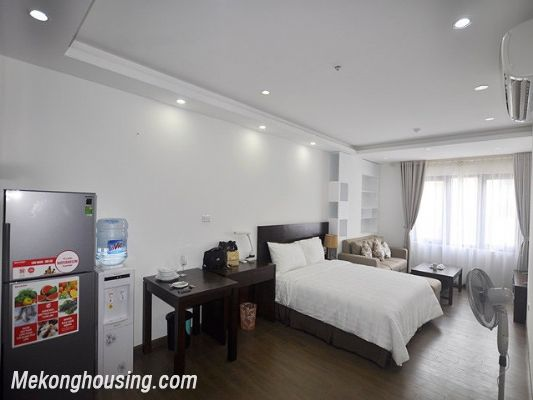 Fully furnished studio serviced apartment for rent in Cau Giay, Hanoi 1