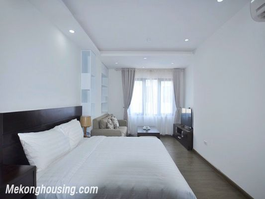 Fully furnished studio serviced apartment for rent in Cau Giay, Hanoi 2