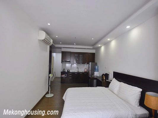 Fully furnished studio serviced apartment for rent in Cau Giay, Hanoi 3