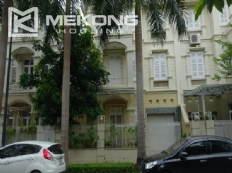 Fully furnished villa with 4 bedrooms for rent in T area Ciputra