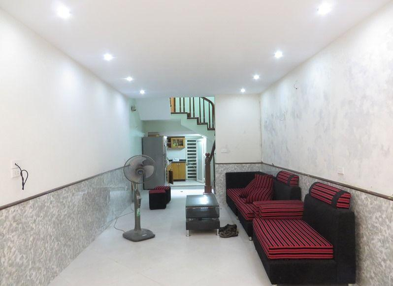 Fully furniture house with 3 floors for rent in Nguyen Chi Thanh, Ba Dinh, Hanoi