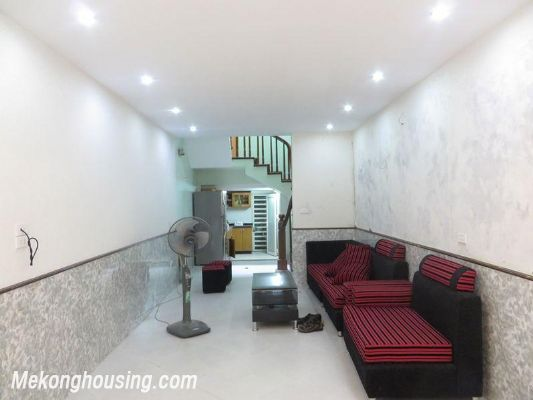 Fully furniture house with 3 floors for rent in Nguyen Chi Thanh, Ba Dinh, Hanoi 1