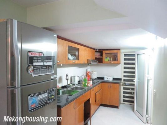Fully furniture house with 3 floors for rent in Nguyen Chi Thanh, Ba Dinh, Hanoi 3