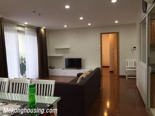 Furnished apartment for rent in N04 Hoang Dao Thuy street, Trung Hoa Nhan Chinh, Cau Giay, Ha Noi 2
