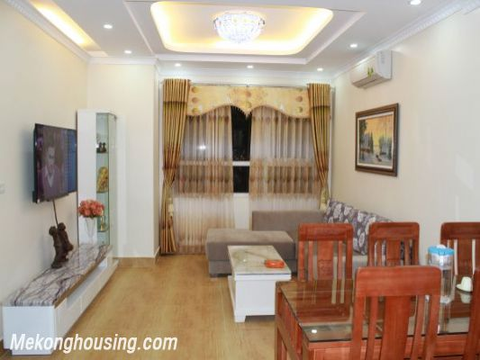 Furnished  apartment with 2 bedrooms at good price for rent in Golden Palace, Me Tri, Hanoi 2