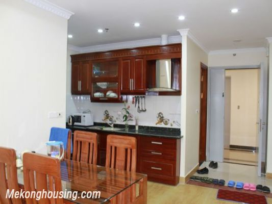 Furnished  apartment with 2 bedrooms at good price for rent in Golden Palace, Me Tri, Hanoi 3