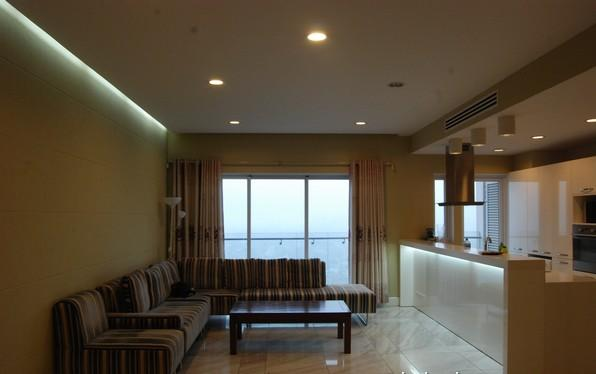 Furnished  apartment with 2 bedrooms at good price for rent in Golden Westlake Hanoi