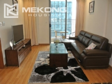 Furnished apartment with 2 bedrooms for rent in Vinhomes Nguyen Chi Thanh