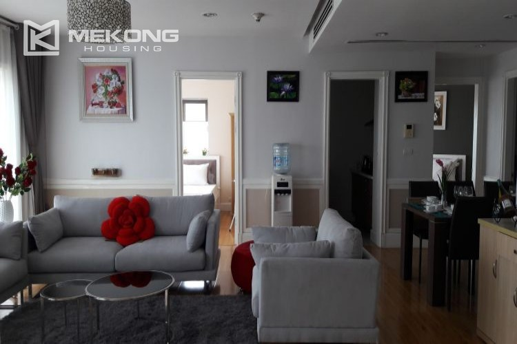 Furnished apartment with 3 bedrooms in Golden Westlake Hanoi 2
