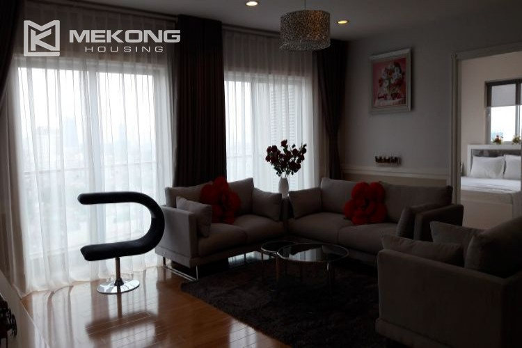 Furnished apartment with 3 bedrooms in Golden Westlake Hanoi 3