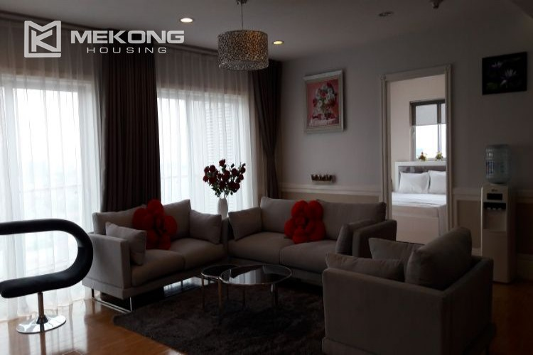 Furnished apartment with 3 bedrooms in Golden Westlake Hanoi 4