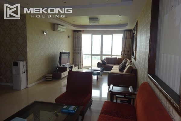 Furnished apartment with 4 bedrooms in P1 tower, Ciputra Hanoi 1