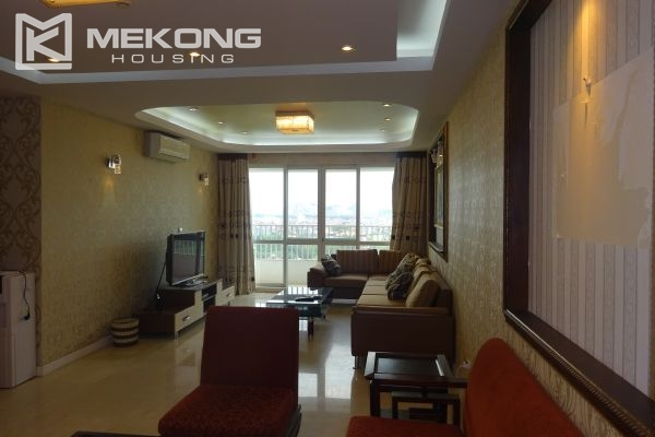 Furnished apartment with 4 bedrooms in P1 tower, Ciputra Hanoi 2