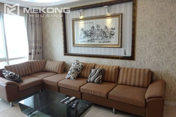 Furnished apartment with 4 bedrooms in P1 tower, Ciputra Hanoi 3
