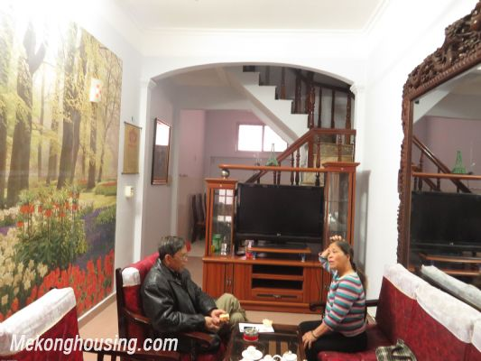 Furnished house with four bedroom for lease in Ngoc Ha street, Ba Dinh district, Hanoi 1