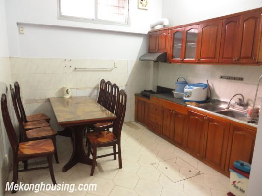 Furnished house with four bedroom for lease in Ngoc Ha street, Ba Dinh district, Hanoi 2