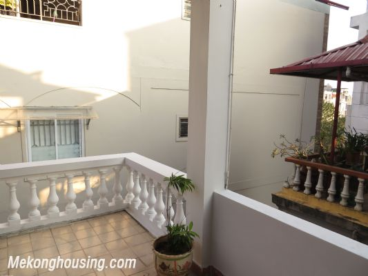 Furnished house with four bedroom for lease in Ngoc Ha street, Ba Dinh district, Hanoi 6