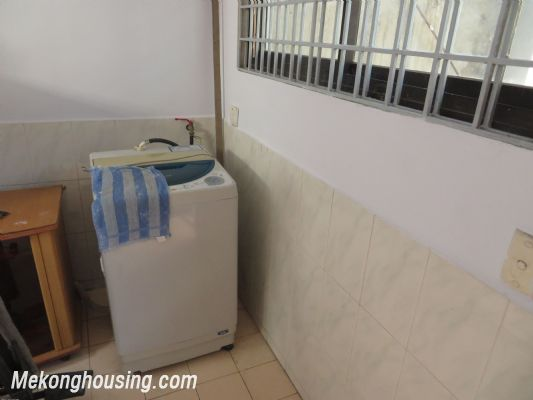 Furnished house with four bedroom for lease in Ngoc Ha street, Ba Dinh district, Hanoi 7