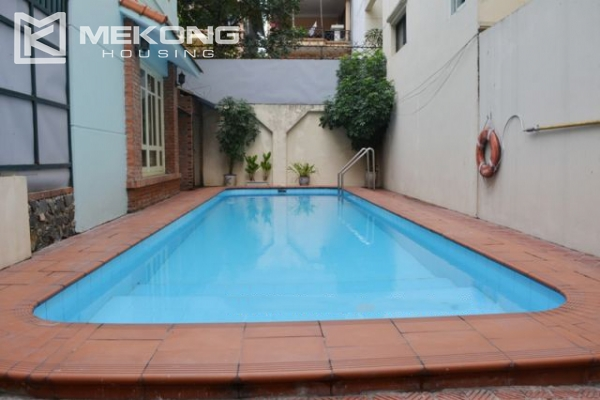 Furnsihed Villa with swimming pool, nice courtyard, and spacious living space in To Ngoc Van street 3