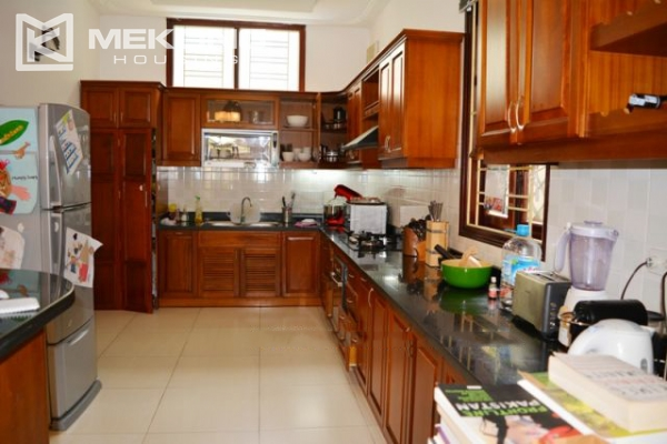 Furnsihed Villa with swimming pool, nice courtyard, and spacious living space in To Ngoc Van street 14
